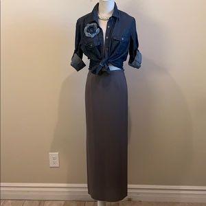Eileen Fisher Silk Medi Skirt (S)